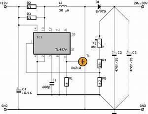 12v To 30v Tl497 Dc Dc Converter Circuit  20v 30v Adjustable  Circuits