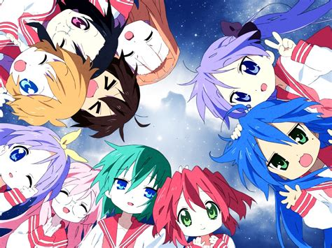 Lucky Anime Wallpaper - anime review lucky minecraft