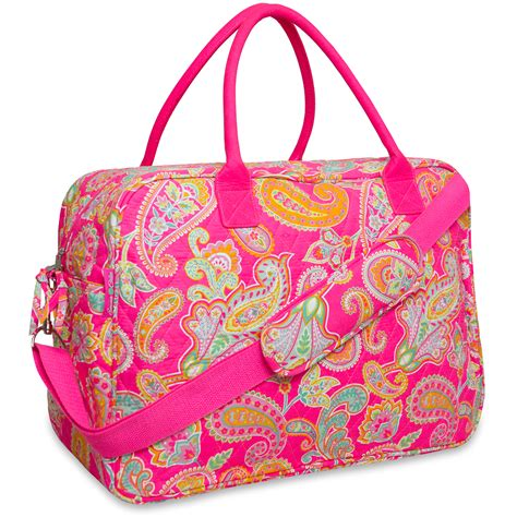 quilted duffle bag and 18 quot cotton quilted duffel bag shop your