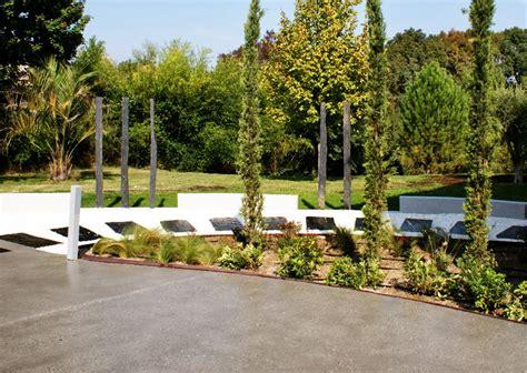 bureau d etude beton aménagement jardin contemporain aix en provence