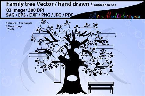 Family Tree Clipart Family Tree Clipart 16 Set Graphic By Arcs