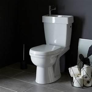 Wc Sortie Horizontale : pack wc 2 en 1 ensemble toilettes pas cher sur planete bain ~ Melissatoandfro.com Idées de Décoration