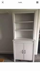 Ikea Brusali Nachttisch : ikea brusali tall cabinet with doors in white in east ~ Watch28wear.com Haus und Dekorationen