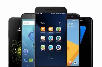 Android Round Smartphones Devices Galaxy