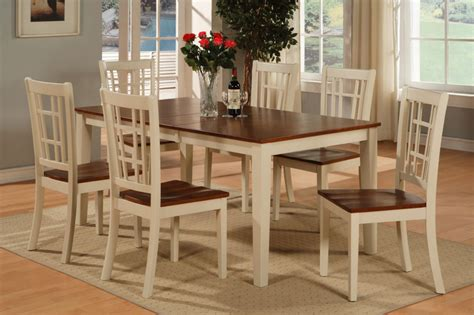 Kitchen Table Sets by Rectangular Dinette Kitchen Dining Set Table 6 Chairs Ebay