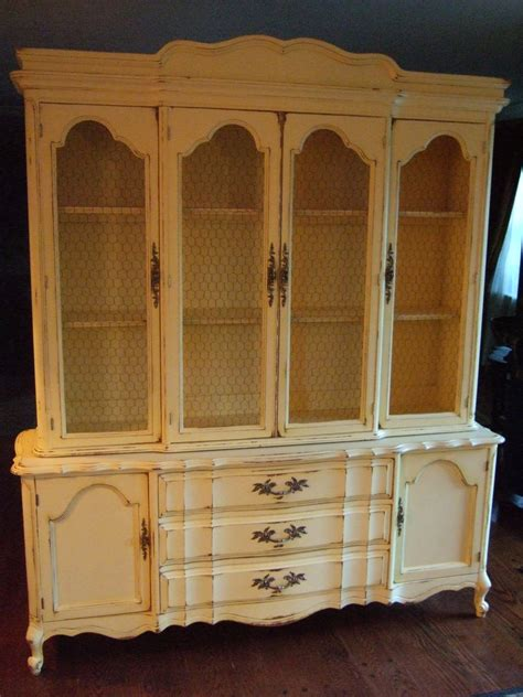 french country china cabinet large french country hutch in a distressed french country