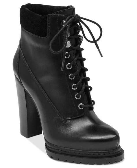 black high heel combat boots cr boot