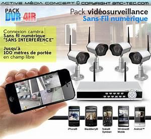 Systeme Video Surveillance Sans Fil : kit videosurveillance sans fil enregistreur ~ Edinachiropracticcenter.com Idées de Décoration