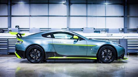 2018 Aston Martin Vantage Gt8 Side View Wallpaper Hd Car