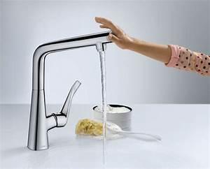 les robinets tactiles un jeu d39enfant inspiration cuisine With les robinets de cuisine