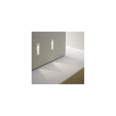 astro lighting borgo 55 0970 white recessed led wall light