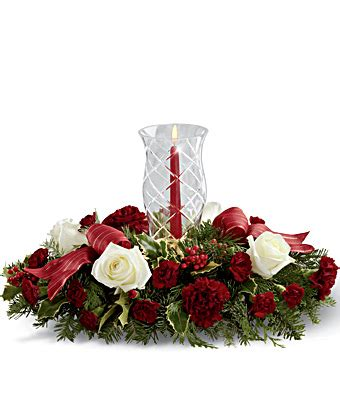 the ftd holiday wishes centerpiece misselliesflowers com