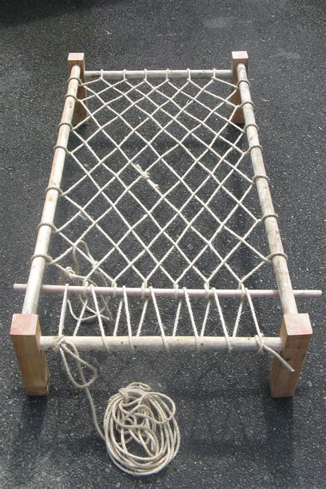 Make Your Own Rope Hammock by What We Ve Been Up To Rope Beds Take 2