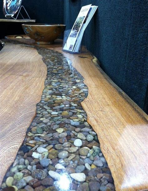 Stunning DIY Ways To Décor Your Home With River Rocks