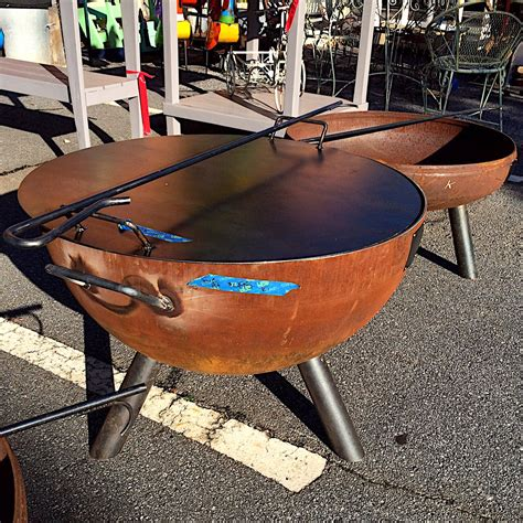 build custom pit custom built steel pit kudzu antiques