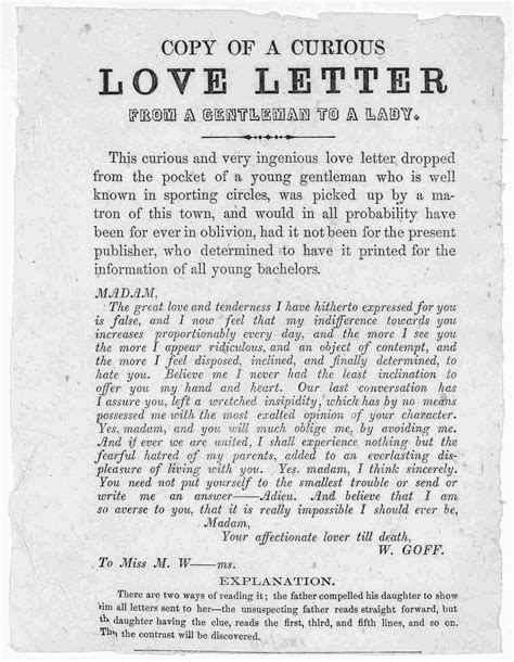 letters to the i loved the riddle of a curious letter