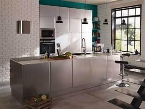 Pinterest Cuisine : la cuisine ouverte inspire les collections ikea et castorama ~ Carolinahurricanesstore.com Idées de Décoration