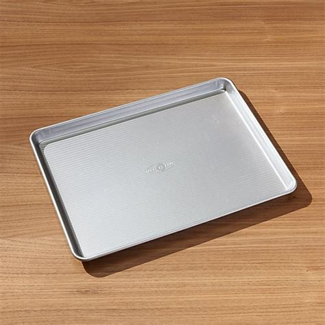 usa pan pro line non stick baking sheet crate and barrel