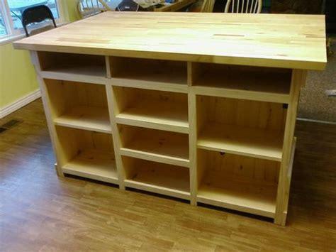 woodwork kitchen island woodworking plan pdf plans