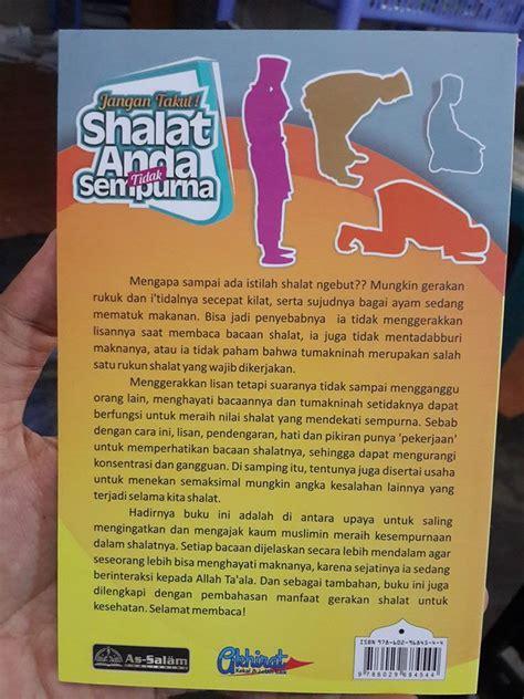 percakapan bahasa inggris sehari hari soft cover buku jangan takut shalat anda tidak sempurna toko muslim