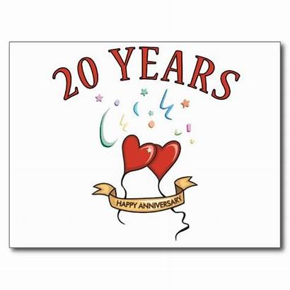 Anniversary 20th Gifts Cards Card Gift 30th