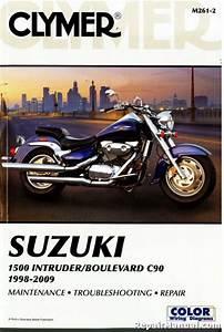 Suzuki 1500 Intruder Boulevard C90 Motorcycle Repair