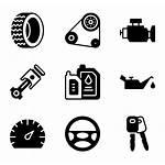 Parts Icon Vehicle Automotive Icons Engine Svg