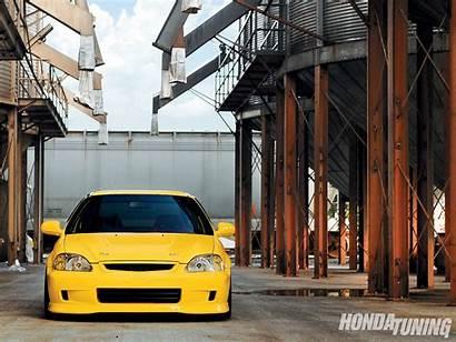 Civic Honda 2000 Ek9 Yellow Expect Tuning