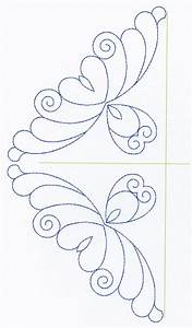 free continuous machine quilting designs feather With hand quilting designs templates