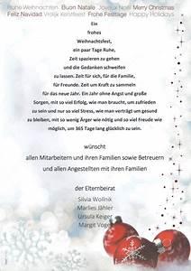Spanische Weihnachtsgrüße An Freunde : weihnachtsgr e 2018 des elternbeirats lebenshilfe ~ Haus.voiturepedia.club Haus und Dekorationen