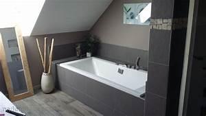 couleur mur salle de bain zen peinture faience salle de bain With idee couleur salle de bain zen