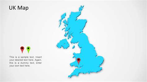 uk map  powerpoint slidemodel