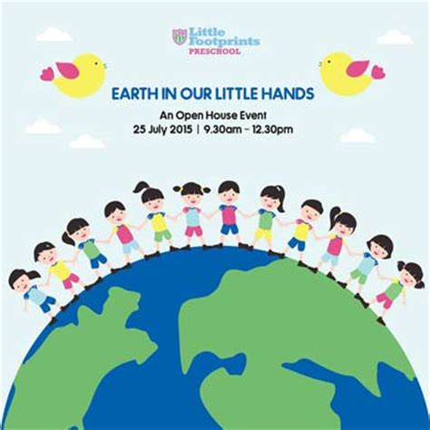 footprints preschool earth in our 858 | little footprints Earth in Our Little Hands openhouse
