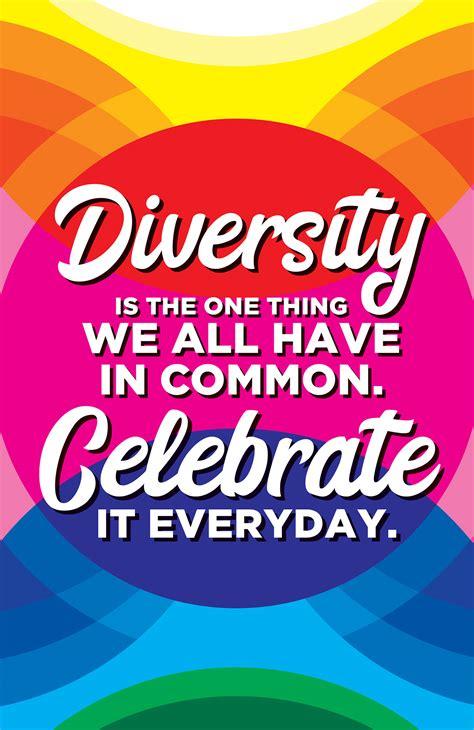 Celebrate Diversity • Art Poster on Behance