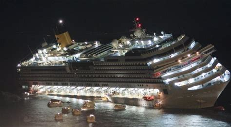 costa concordia how a ship the size of titanic is