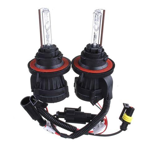 55w 9004 dual beam high low hid bi xenon bulbs dc12v car