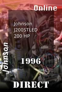 1996 J200stled Johnson 200hp Outboard Motor Online Service