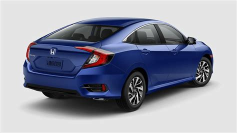 2017 Honda Civic Sedan Configurations by What Are The 2017 Honda Civic Sedan Color Options