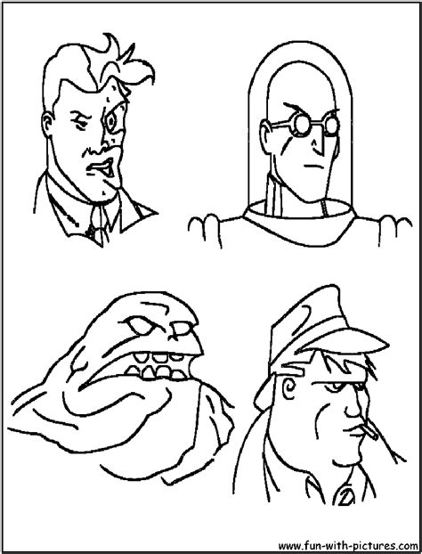 Batman Coloring Pages Free Printable Colouring For