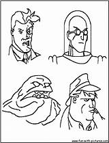 Coloring Batman Pages Bad Guy Villains Colouring Printable Enemies Print Getcolorings Page3 Pdf sketch template