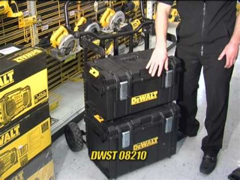 Portable Storage Cabinet by Dewalt Tough System Case Youtube