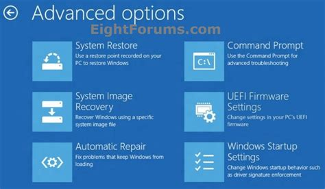 Continue With System Resume Windows 7 by System Restore How To Do In Windows 8