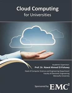 cloud computing for universities graduation project With cloud computing documentation