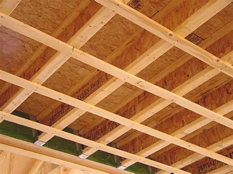 Ceiling Joist Spacing For Drywall by Structural Cross Joists And Load Bearing Walls Century