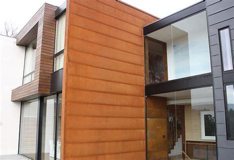sheets of tin rustwall corten wall panel corten soffit and wall panel