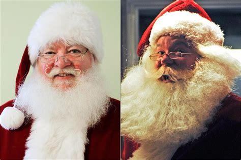 real  fake beards santas split hairs  boston globe