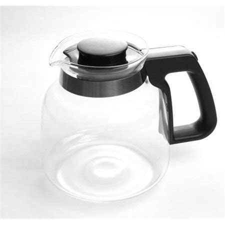 Vintage pyrex replacement glass 6 cup coffee pot with lid is in beautiful used condition with no chips or cracks. Espresso Supply 7501180 Bonavita Replacement Glass Carafe for BV1800 Coffee Maker - Walmart.com
