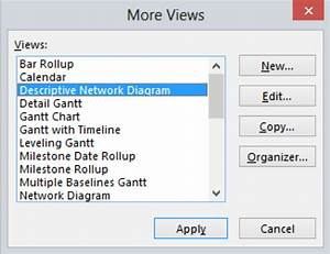 Network Diagrams In Microsoft Project
