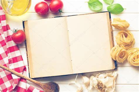 livre de cuisine vierge livre de recette vierge et ingrédients frais
