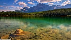 Nature, Water, Forest, Mountain, Wallpapers, Hd, Desktop